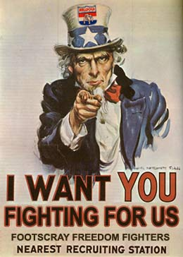 I Want You Fighting For Us
